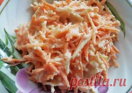 (11) Салат с морковью и яблоком - пошаговый рецепт с фото. Автор рецепта Елена Пятайкина 🌳 . - Cookpad