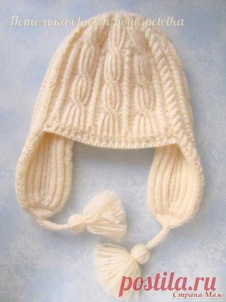 Шапка «Веселые косички» для девушки (Вязание спицами) — Журнал Вдохновение Рукодельницы