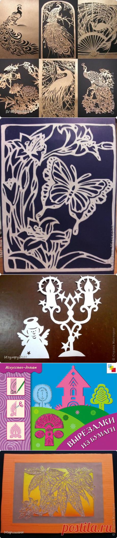 Вырезанки из бумаги птицы - Ru kartinki