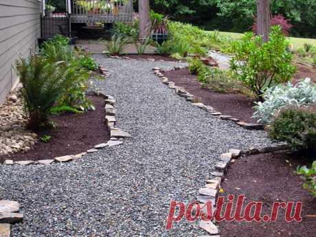 Фото садовых дорожек в ландшафтном дизайне сада