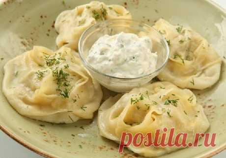Простые рецепты. Манты с картошкой и фаршем в мультиварке или на сковородке