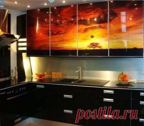 Закат на кухне