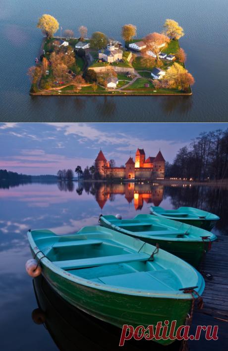 Самые миниатюрные населенные острова мира — Вокруг Мира