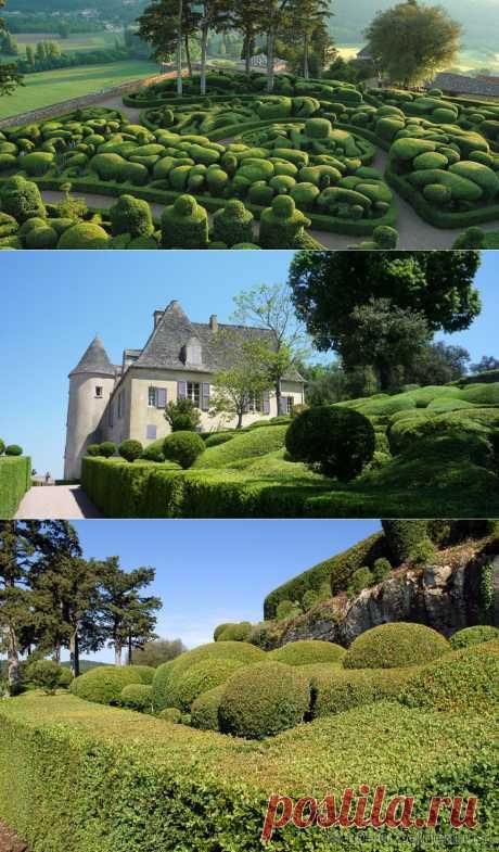 Сады Marqueyssac »