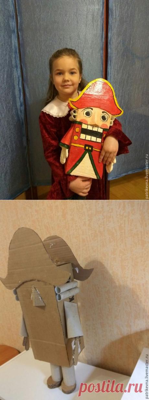 Щелкунчик: наша поделка в детский сад АВТОР Чердачок Марины Толоконниковой