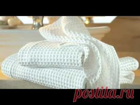 Супер - отстирывание полотенец. Отбелить кухонные полотенца. быстро и легко!!!