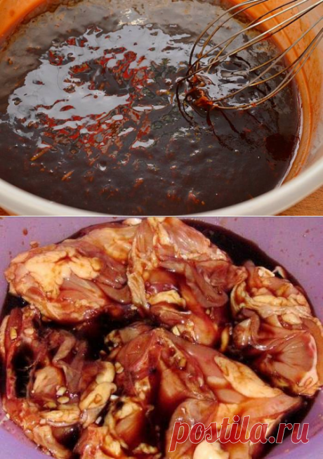 Маринад для куриного шашлыка - рецепт с фото / Простые рецепты