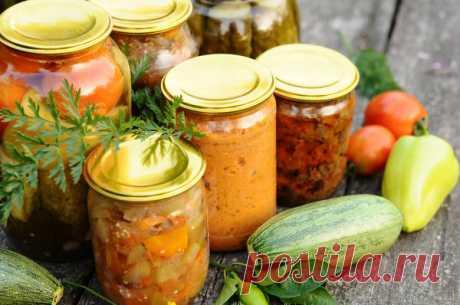 Салаты из кабачков на зиму: рецепты приготовления