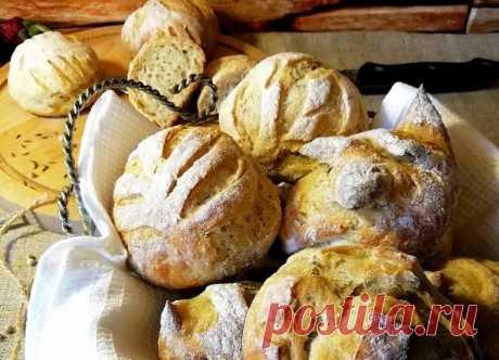 Шведские хлебные булочки - отличная свежая выпечка без хлопот! Делаем тесто с вечера, буквально за 5-10 минут, а утром свежий хлеб у вас на столе!