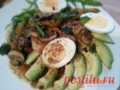 Яичный салат | Foodbook.su Этот салат, можно смело отнести к категории блюд правильного питания. На вид он кажется сложным, но когда он будет готов, Вы испытаете настоящее, гастрономическое удовольствие.