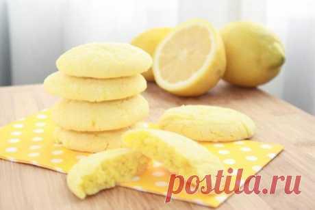 Мягкое домашнее лимонное печенье! • Сияние Жизни