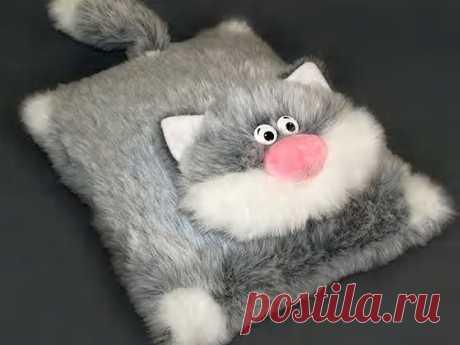 подушка игрушка котик своими руками — Яндекс: нашлось 11млнрезультатов