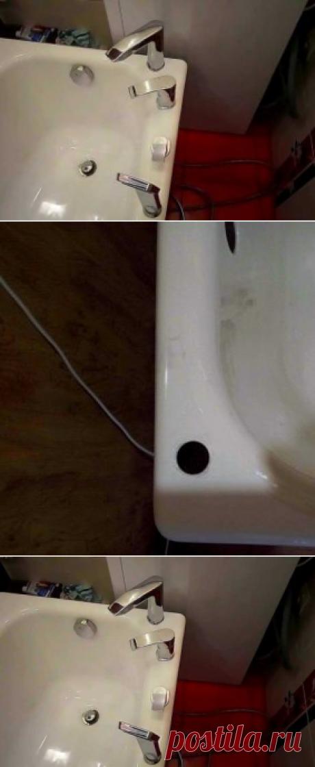 Сверление отверстий в чугунной ванне - Мелкий ремонт