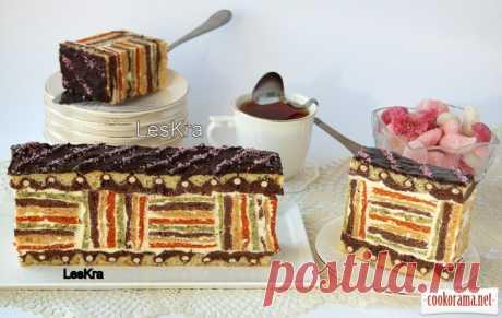 """Пирог """"Цветной сон"""" / Торты / Кукорама - вкусные рецепты!"""