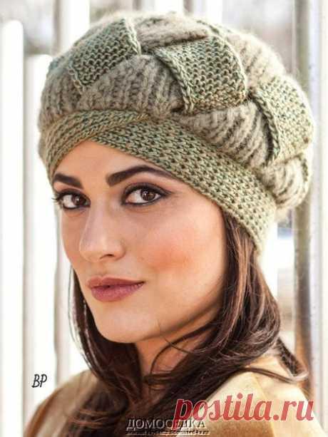 Шикарная оригинальная шапка Shelley от Norah Gaughan выполнена спицами из двух видов пряжи. Шапка вяжется полосами, которые переплетаются между собой.  Размер один (54-56 см). Для вязания потребуется: 1 моток пряжи Berroco Lustra цвет 3187 (50% шерсть, 50% вискоза) и 1 моток Berroco Kodiak цвет 7010 (61% альпака, 24% нейлон, 15% шерсть; 115 м/50 г); круговые спицы длиной 60 см 4 мм, 4.5 мм и 6 мм; трикотажная игла; булавки.  Плотность вязания:  22 п. и 26 р. = 10 см спицам...