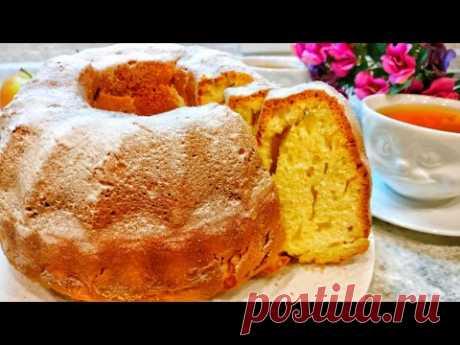 Пышный кекс на кефире рецепт с фото