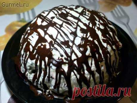 """Торт """"Шоколадный Панчо"""" с вишней (очень быстро). Рецепт с фото. Пошаговые фотографии. Gurmel"""