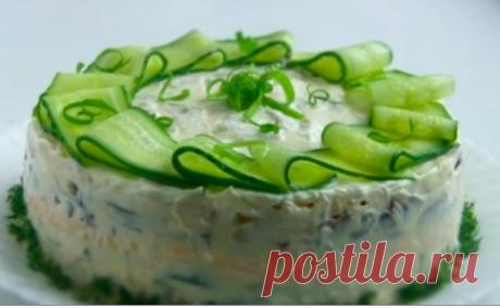 Рецепт красивого, яркого и вкусного салата «Мадмуазель»