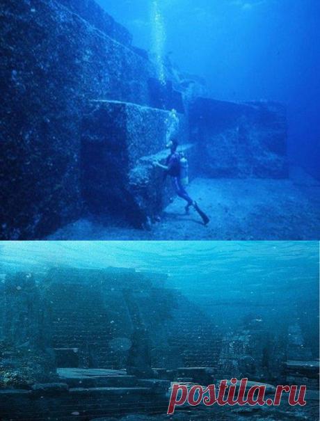 Подводные пирамиды на дне Бермудского треугольника - Путешествуем вместе