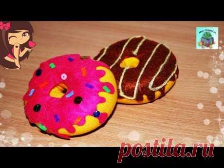КАК СДЕЛАТЬ ПОНЧИК ИЗ НОСКА. ПОДЕЛКИ ИЗ НОСКОВ СВОИМИ РУКАМИ.Donut from the sock (DIY, Handmade)