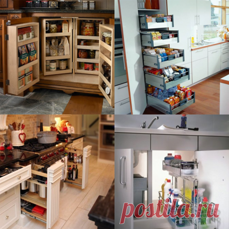 Что такое кассетная система хранения на кухне? - Ремонт   лайфхаки   интерьер