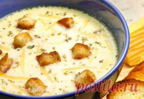 Сырный суп: когда абсолютно лень готовить | Краше Всех