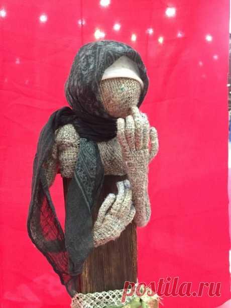 Коллекция кукол «Поминальная молитва» Автор Лариса Соболева