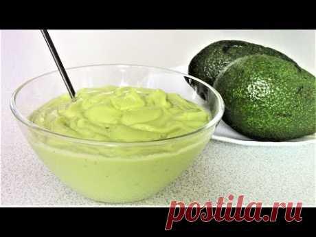Нежный и вкусный Соус из авокадо и яблока. | Легко приготовить! С Людмилой! | Яндекс Дзен