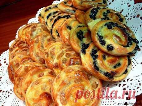 Рецепт обалденных французских булочек.