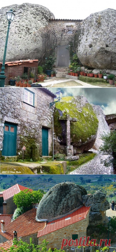 Деревня Монсанто - самое португальское селение. - Путешествуем вместе