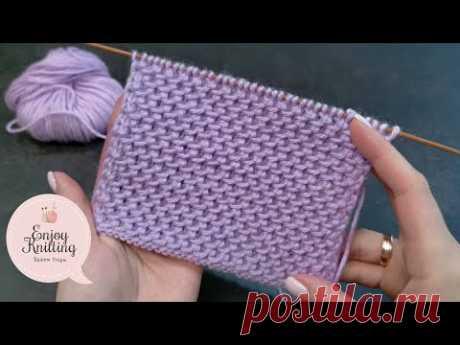 ПРОСТОЙ Узор спицами для Кардигана/Пальто | Coat/Cardigan knitting Pattern