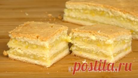 Вместо крема для пирогов и тортов (можно и в пост) | Кухня наизнанку | Яндекс Дзен