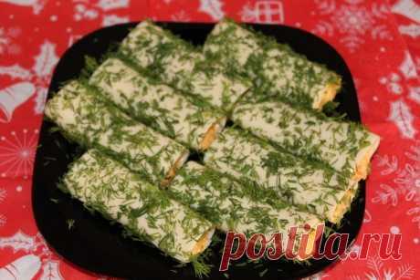 Сырные трубочки - Простые рецепты Овкусе.ру