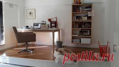Новости PRO Ремонт - В этой комнате помещался только стол и стул. То, что сделал этот парень, нужно видеть!