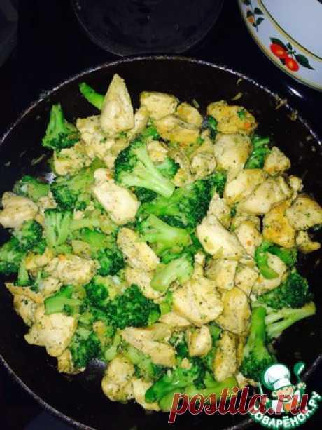 Брокколи с курицей - кулинарный рецепт