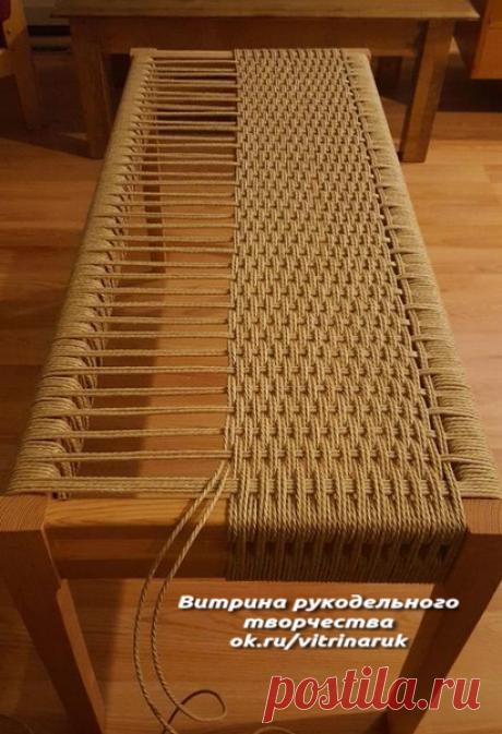 Интересная задумка для обновления дачной мебели своими руками   Люблю Себя