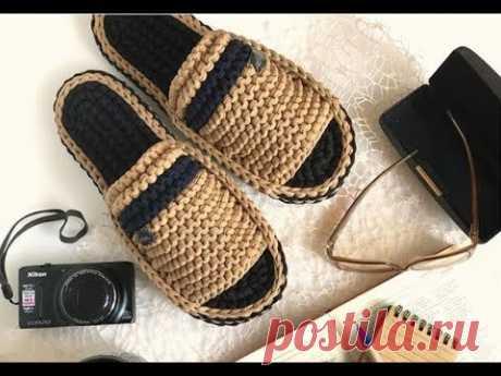 Обувь крючком из трикотажной пряжи и шнура - идеи для вязания и вдохновения. Crochet slippers ideas - YouTube Из трикотажной пряжи или шнура можно связать красивую и удобную обувь с легким массажным эффектом. Небольшая видео подборка фото идей для вязания и вдохновения. #тапочкикрючком #обувькрючком #вязанаяобувь #тапочкиизтрикотажнойпряжи #детскиетапочки #идеикрючком #взаниедлядома #вязаныеидеи