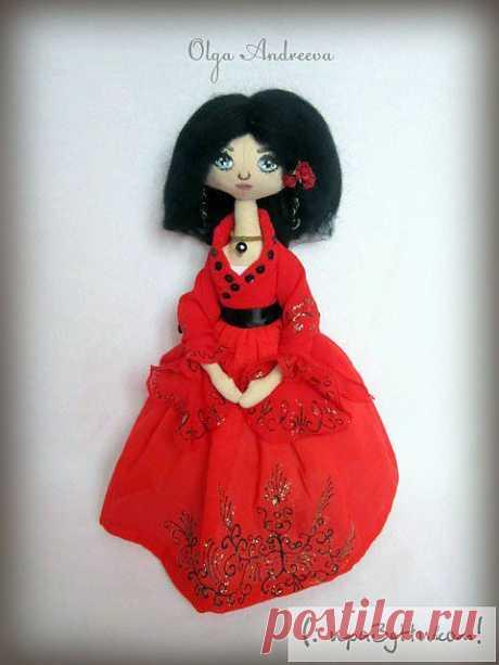 С праздником! - Hand-made подарки - Кукла Хитана