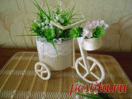 Велосипед шкатулочка