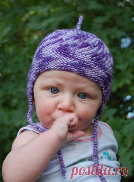 Шапка спицами для мальчика на весну, осень, зиму: описание и схема. Как связать детскую шапку для мальчика спицами шлем, ушанку, миньон, с шарфом?