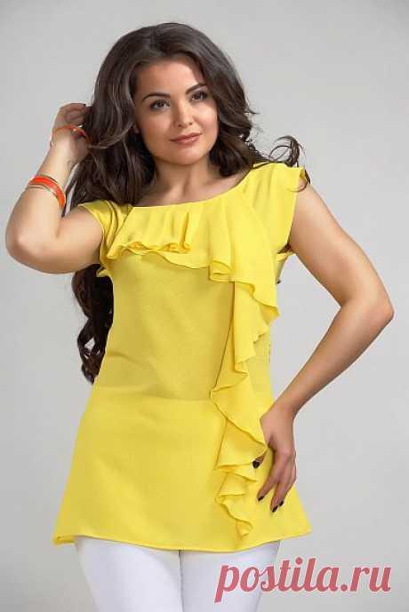 Каталог женской одежды в Москве, красивая женская одежда с бесплатной доставкой цвет - Желтый