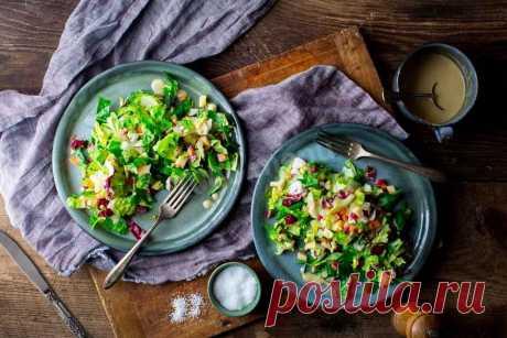 Витаминный салат с эскаролом