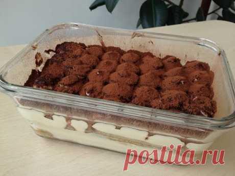 La torta de Tiramisu Poshagovyy la Receta | Tiramisu Recipe, English Subtitles)