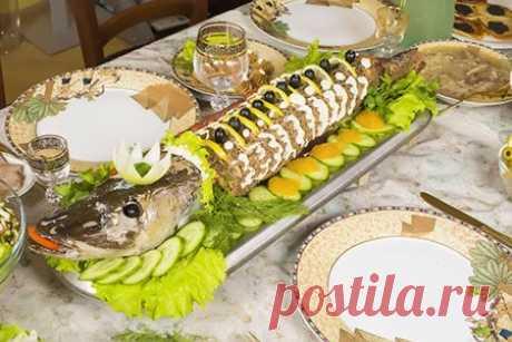 Щука фаршированная по-еврейски | Кулинарный портал Мастеркок