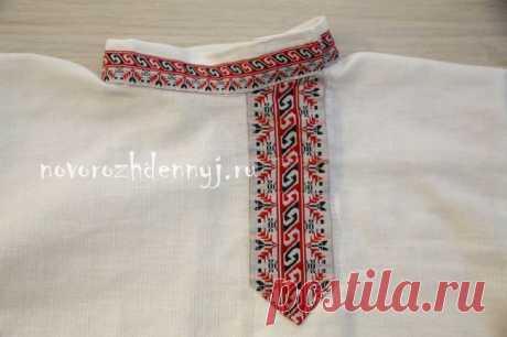 Русская народная рубаха косоворотка для мальчика своими руками | Уход за новорожденным