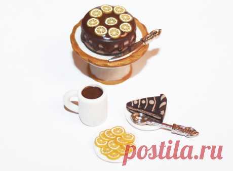 Кулинарная миниатюра из полимерной глины — мастер класс