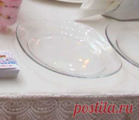 Зачем клеить ткань к обратной стороне тарелки советы домохозяек!
