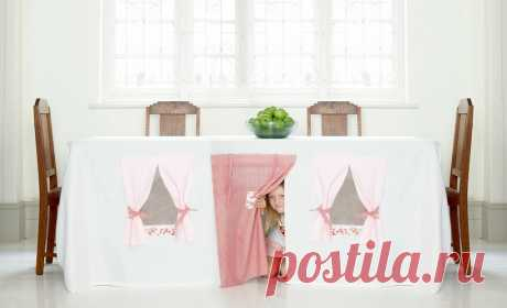 Долой капли, жир и выстиранные ткани — как выбрать самую лучшую скатерть для кухни? - Postel-Deluxe.ru