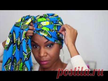 My 4 Quick and Easy Headwrap Styles | Natural Hair