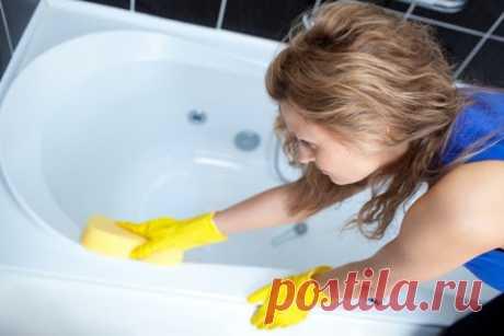 Смесь, которая поможет сделать вашу ванну белоснежной без особых усилий — realboopro